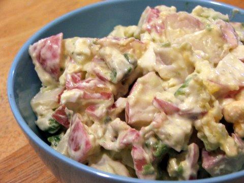 Low Carb Potato Salad 2
